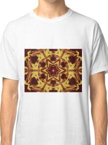 Star mandala in brown Classic T-Shirt
