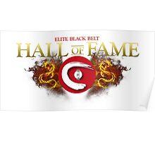 Elite Black Belt Hall of Fame - Seieido Poster