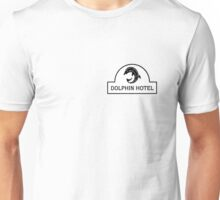 Dolphin Hotel from Stephen King's 1408 Unisex T-Shirt