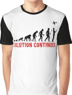 RC Radio Controlled Aircraft Evolution Continues Graphic T-Shirt