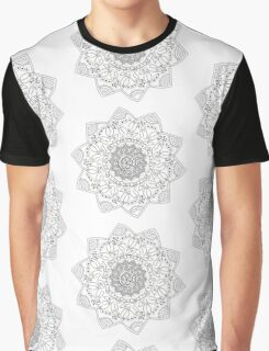 Circular abstract pattern of different elements  Graphic T-Shirt