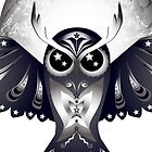 Owl Of the moon by GayaHovakimyan