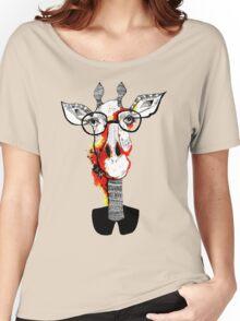 Hipster giraffe is hipster Women's Relaxed Fit T-Shirt