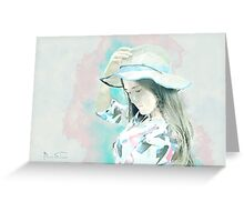 Chinese Lady Greeting Card