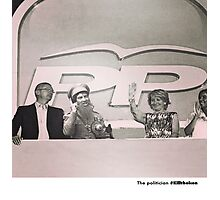 21 The politician Photographic Print