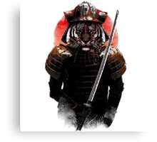 Tiger Samurai  Canvas Print