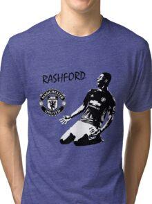 Marcus Rashford - Manchester United Tri-blend T-Shirt