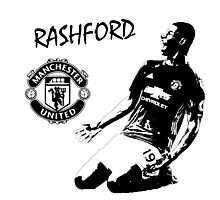 Marcus Rashford - Manchester United Photographic Print