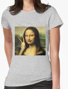 Duckface Mona Womens Fitted T-Shirt