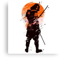 Samurai - Limited edition 2016 Canvas Print