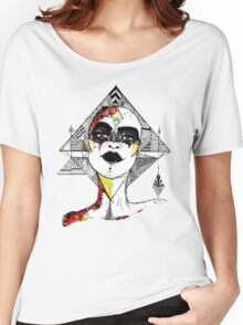 Lady Geometry Women's Relaxed Fit T-Shirt