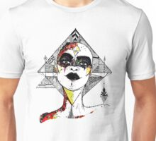 Lady Geometry Unisex T-Shirt