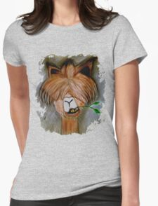 Ugly Alpaca  Womens Fitted T-Shirt