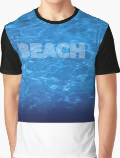 Beach 7 waves Graphic T-Shirt