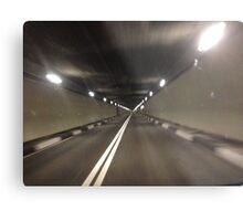 tunnel light Metal Print