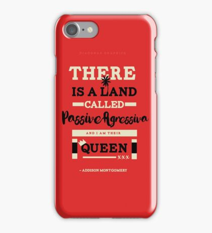 Passive Agressiva - Grey's Anatomy iPhone Case/Skin