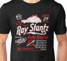 Ray Stantz Auto Repair Unisex T-Shirt