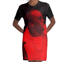 Diddy - Celebrity Graphic T-Shirt Dress
