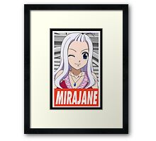 (FAIRY TAIL) Mirajane Framed Print