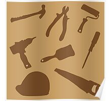 Collection building tools Poster