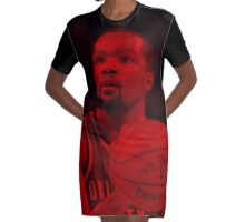 Kevin Durant - Celebrity Graphic T-Shirt Dress