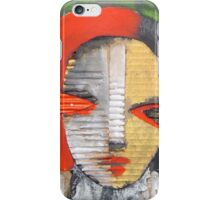 the woman iPhone Case/Skin