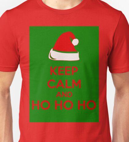 Keep Calm And Ho Ho Ho Unisex T-Shirt
