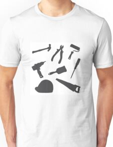 Collection building tools Unisex T-Shirt