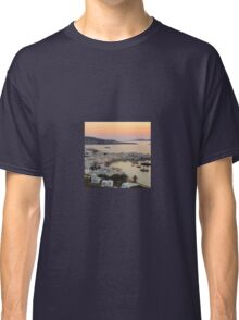 Sunset, Myconos Island, Greece Classic T-Shirt