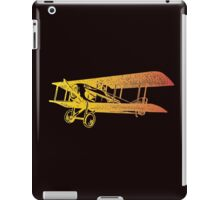 Vintage Airplane - Born to Fly 2 iPad Case/Skin