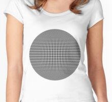 Dots Women's Fitted Scoop T-Shirt