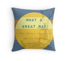 story of my life Throw Pillow