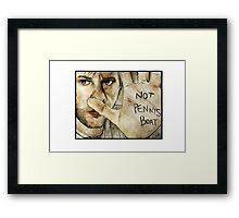 Not Pennys Boat Framed Print