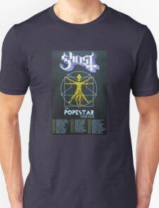 Ghost BC Popestar tours 2016 radamelandreana Unisex T-Shirt