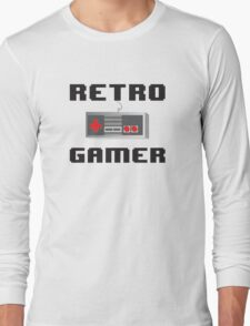 Retro Gamer Long Sleeve T-Shirt