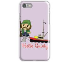Hello Quinty iPhone Case/Skin