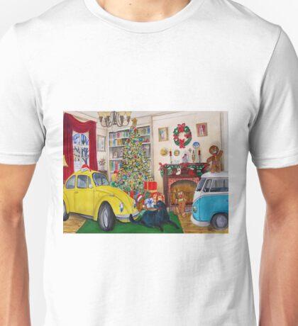 Taxi Bug the Volky Bug's Xmas Unisex T-Shirt