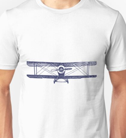 Vintage Airplane - Born to Fly Unisex T-Shirt