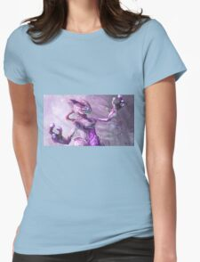 Pokemon Concept Art Poster Womens Fitted T-Shirt