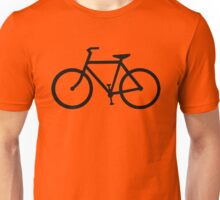 black bicycle bike Unisex T-Shirt