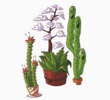 cactus trees One Piece - Short Sleeve