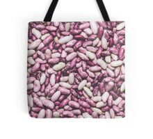 Shiny white and purple cool beans Tote Bag