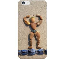 I WORKOUT! - Muscles on Mussels iPhone Case/Skin