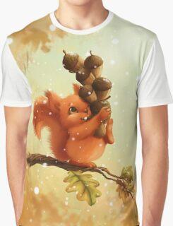 Stupid Squirrel Graphic T-Shirt