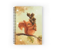 Stupid Squirrel Spiral Notebook