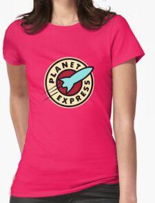 Planet Express - Futurama Womens Fitted T-Shirt