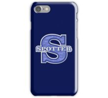 Spotter of Aircraft iPhone Case/Skin