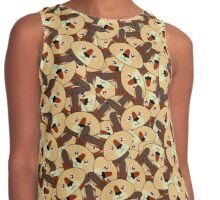 Mini Kangaroos - Australian animal design Contrast Tank