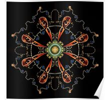 Mandala - 0013 - The Raven and the Sea Poster