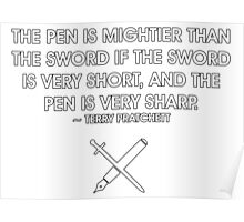 The Pen and the Sword Poster